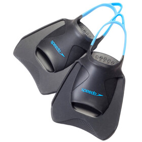 speedo Biofuse Fitness Flossen charcoal/blue
